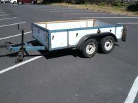 trailer twin axle 1 ton capacity