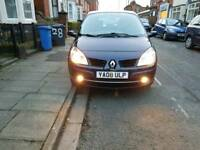 Lovly Renault G Scenic 7seater 1.5 diesel Mot till Feb 2019 perfect Family car v eco nice and clean