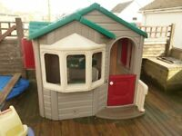 very large little tykes playhouse