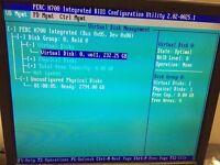 Dell PERC H700 512MB SAS Adapter RAID Controller poweredge R510 R710 r610 cable