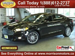 2013 Ford Fusion SE 2.0L Turbo, Leather, Navi, Sunroof