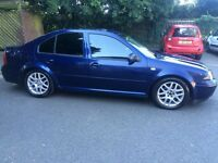 2005 VOLKSWAGEN BORA TDI 6 SPEED MANUAL 130 BHP TOP SPECS WITH FULL LEATHER MUST SEE