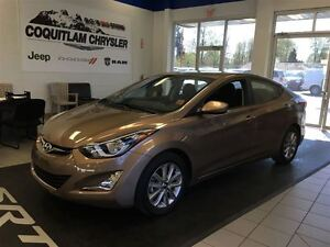 2016 Hyundai Elantra GLS Power Sun Roof Alloy