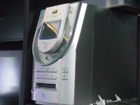 minidisc/cd player jvc.£45
