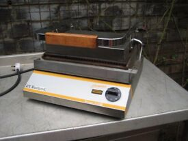 Catering grill R.V.Rutland CG301 commercial, serviced.