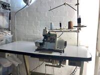 Industrial BROTHER overlocker sewing machine 3/5 thread, brilliant condition