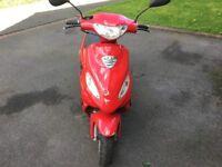 50cc scooter ( 12 months MOT )