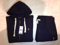 Ralph Lauren Tracksuit: Grey / Navy - S M L XL ( Ralph Lauren, Armani, Stone Island )