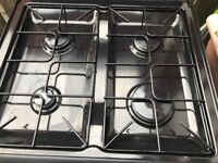 Belling black gas cooker 60cm double gas ovens free delivery