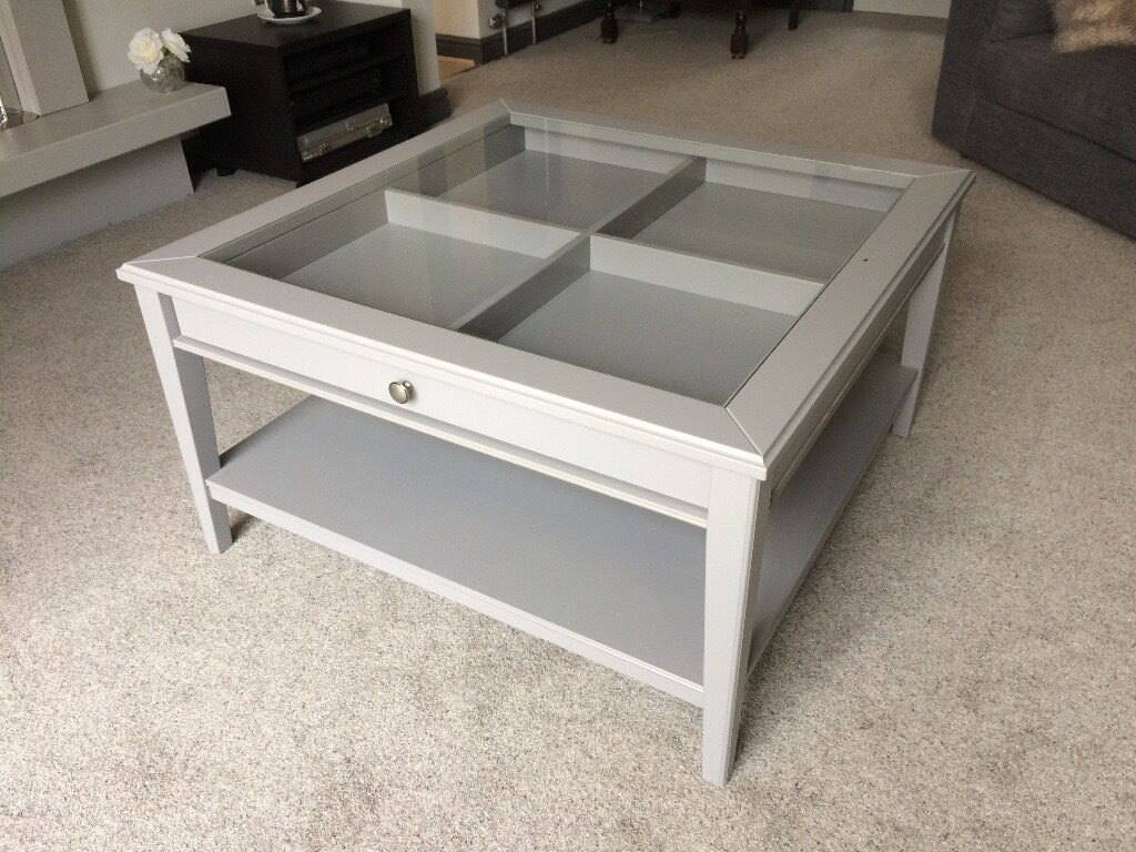 liatorp ikea coffee table nearly new in horsforth. Black Bedroom Furniture Sets. Home Design Ideas