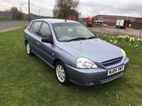 04 REG KIA RIO 1.3L 5DR-FEBRUARY 2018 MOT-GREAT CAR CHEAP TO INSURE AND RUN-IDEAL FAMILY RUNABOUT
