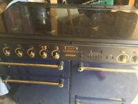 Leisure Gourmet Professional 110 Range Cooker Dark Blue