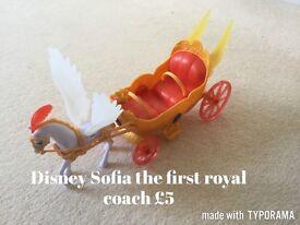 Disney Sofia first princess coach