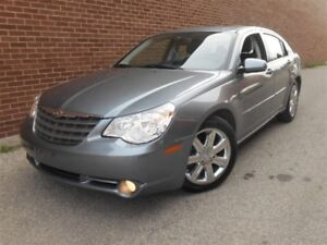 2010 Chrysler Sebring Limited, Low KMs, Leather, Sunroof, Chrome