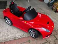 Children's Motorised Ferarri