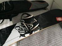 Snowboard Santa Cruz plus bag