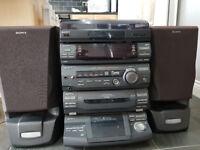 Sony Hi Fi System.