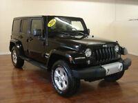 2014 Jeep Wrangler Unlimited Sahara CUIR NAV SAT 222$/2SEM+TX