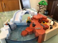 Playmobil wildlife penguin habitat set