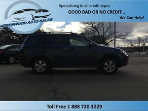 2009 Mitsubishi Outlander Outlander 4X4, Heated seats, ac, cruse