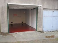 Lock up Garage to let. With Electricity. Off Leith Walk