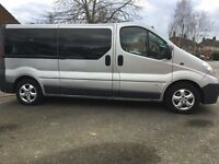 AUTOMATIC 9 SEATER LWB MINIBUS, BRAND NEW ENGINE FITTED IN JULY 2016 SINCE THEN ONLY COVERD 16K