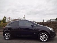 (2009) VAUXHALL Corsa 1.4 SXi (Very RARE Auto Gearbox) 3 DR BLACK- One Lady Owner- 27,000 Miles- FSH