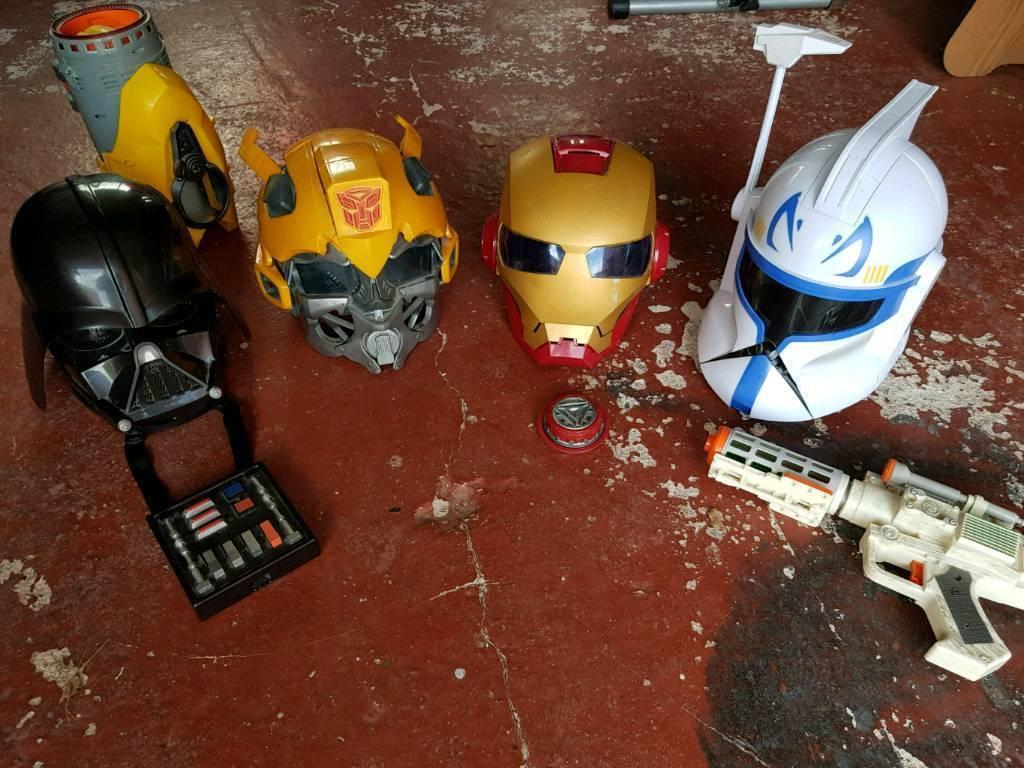 Super hero helmets