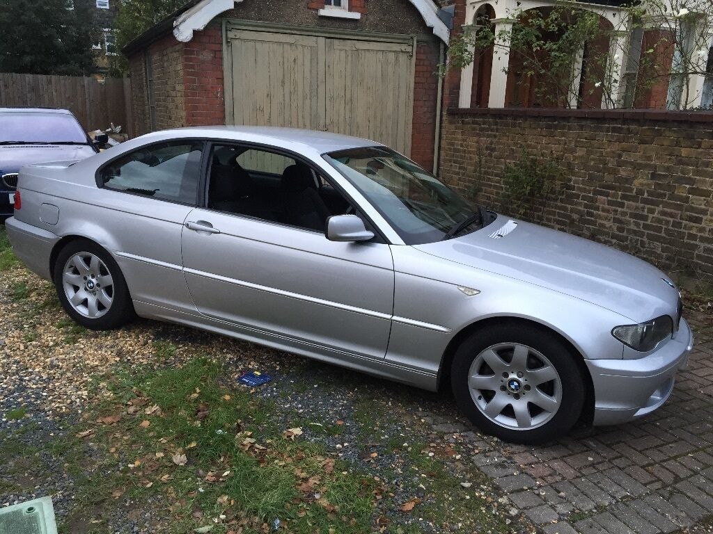 bmw 318 coupe 3 series e46 auto 2004 silver 2 owners facelift model not 330 in ealing london. Black Bedroom Furniture Sets. Home Design Ideas