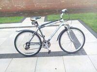 mountainbike , five years old good condition,used very little.