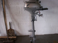 Honda 2.3hp four stroke outboard long shaft