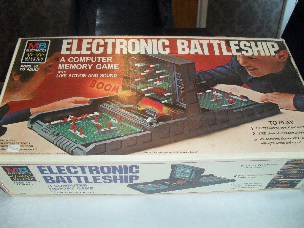 Electronic Battleship Game MB 1979