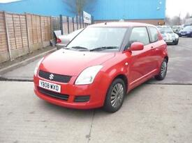 Suzuki Swift GL 3dr (red) 2008