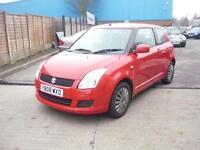 Suzuki Swift GL 3dr (red) 2008