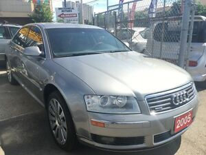 2005 Audi A8 4.2L Quattro Luxury Navi Leather Sunroof Alloys SU