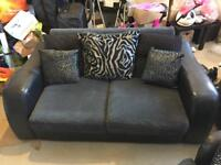 2 seater sofa and swivel chairs