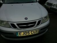 SAAB 9-3 VECTOR 1.9 TID DIESEL 2005 REG LEATHER ALLOYS