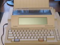 Canon Starwriter 30-11 Word Processor