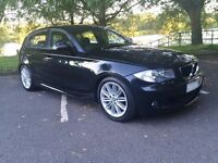 BMW 120d M sport, Sat Nav & Leather