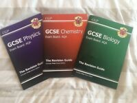 CGP GCSE Physics, Chemistry, Biology Revision Guides - AQA exam board