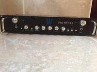 Warwick Pro Fet 3.2 300W Bass Amp