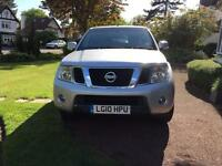 Well looked after Nissan Navara - additional hard top, top bar, bed liner reversing sensors