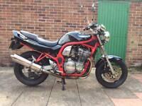 Suzuki gsf 600 bandit 1996 A2 legal.