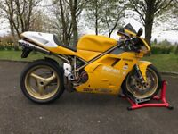 Ducati 916 - Stunning - Rare in yellow
