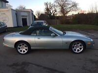 2001 JAGUAR XK8 4.0 AUTO CONVERTIBLE BEST COLOUR COMBO PX SWAPS LOW 124K FULL...