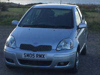 2005 Toyota Yaris 1.0L Colour Collection 5 Door 81500 Miles
