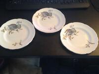 Vintage Regency English Bone China Tea Plates 15.5cm Dia