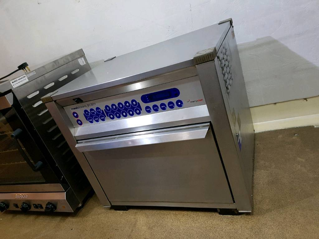 """Merrychef Mealstream EC501 Combination Oven 25 Amp Plugin Cheadle, ManchesterGumtree - USED BEAUTIFULL MEAL STREAM EC501 MERRYCHEFF IN EXCELLENT CONDITION LIKE NEW AND WORKING LIKE NEW,IF NOT HAPPY WITH ITEM WE ACCEPT RETURN WITH IN 14 DAYS FOR FULL REFUND...The Mealstream EC501fast food in the """"on the go"""" sector.It combines..."""
