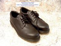 Original Dr Martens Industrial Shoes Size 8 Steel Toe Caps