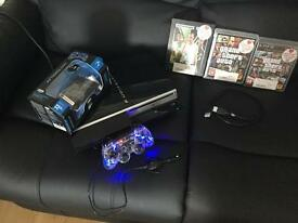 PS3 80gb console and extras